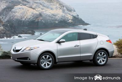 Insurance quote for Acura ZDX in Fort Worth