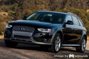 Insurance rates Audi Allroad in Fort Worth