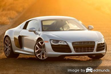 Insurance quote for Audi R8 in Fort Worth