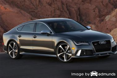 Insurance quote for Audi RS7 in Fort Worth