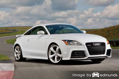 Insurance rates Audi TT RS in Fort Worth