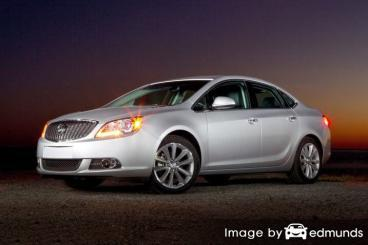Insurance rates Buick Verano in Fort Worth