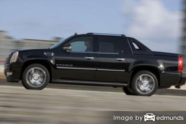 Insurance rates Cadillac Escalade EXT in Fort Worth