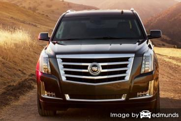 Insurance rates Cadillac Escalade in Fort Worth