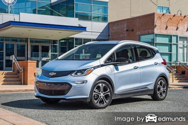 Insurance rates Chevy Bolt in Fort Worth