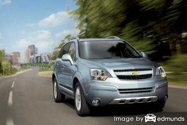 Insurance quote for Chevy Captiva Sport in Fort Worth