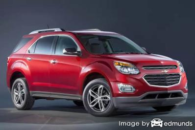 Insurance quote for Chevy Equinox in Fort Worth