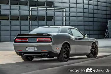 Insurance quote for Dodge Challenger in Fort Worth