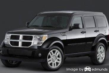 Insurance rates Dodge Nitro in Fort Worth