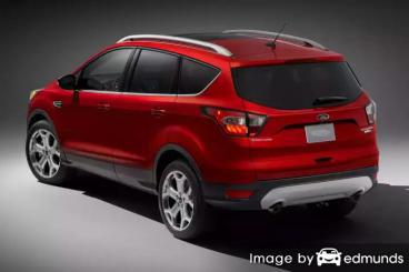 Insurance rates Ford Escape in Fort Worth