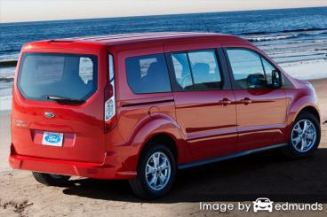 Discount Ford Transit Connect insurance