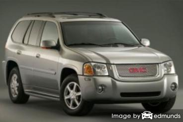 Insurance rates GMC Envoy in Fort Worth