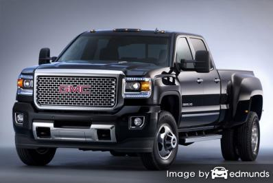 Insurance quote for GMC Sierra 3500HD in Fort Worth