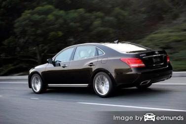 Insurance quote for Hyundai Equus in Fort Worth