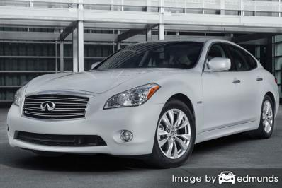 Insurance quote for Infiniti M37 in Fort Worth
