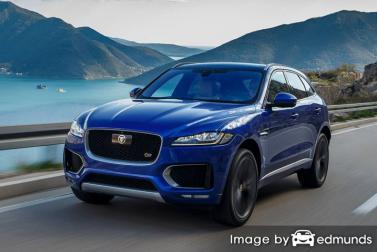 Insurance rates Jaguar F-PACE in Fort Worth