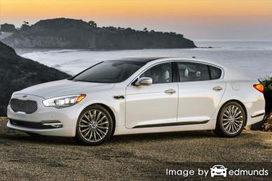 Insurance rates Kia K900 in Fort Worth