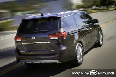 Insurance quote for Kia Sedona in Fort Worth