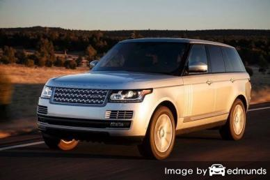 Insurance rates Land Rover Range Rover in Fort Worth