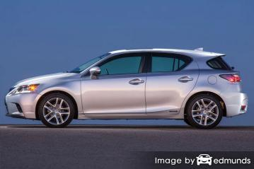 Insurance quote for Lexus CT 200h in Fort Worth