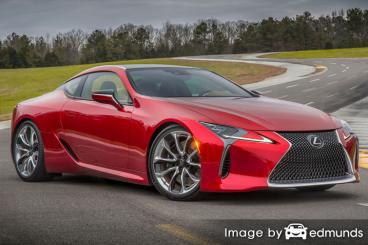 Insurance quote for Lexus LC 500 in Fort Worth