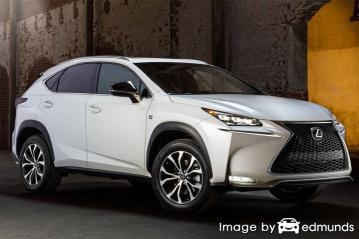 Insurance quote for Lexus NX 200t in Fort Worth
