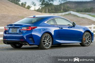 Insurance rates Lexus RC 200t in Fort Worth