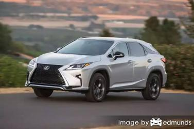 Insurance quote for Lexus RX 350 in Fort Worth