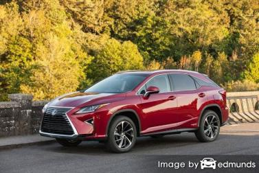 Insurance quote for Lexus RX 450h in Fort Worth