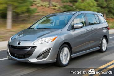 Insurance rates Mazda 5 in Fort Worth