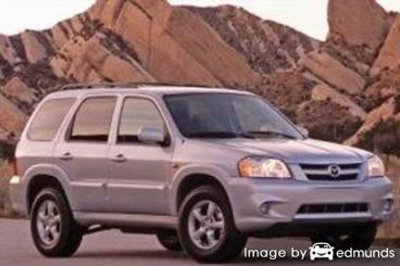 Insurance rates Mazda Tribute in Fort Worth