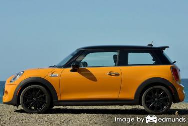 Insurance quote for Mini Cooper in Fort Worth
