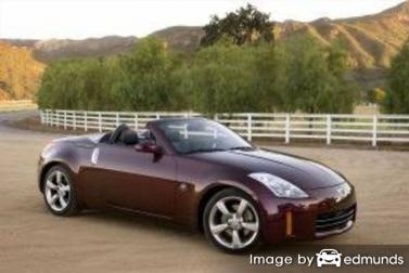Insurance quote for Nissan 350Z in Fort Worth