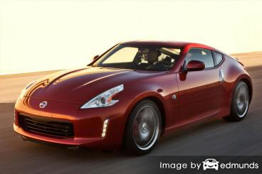 Insurance quote for Nissan 370Z in Fort Worth