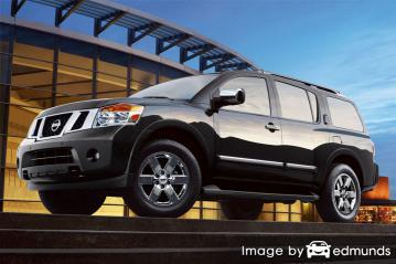 Insurance rates Nissan Armada in Fort Worth