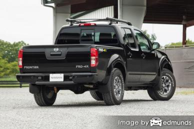 Insurance quote for Nissan Frontier in Fort Worth