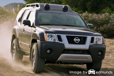 Insurance for Nissan Xterra