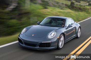 Insurance rates Porsche 911 in Fort Worth