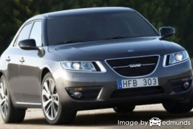 Insurance quote for Saab 9-5 in Fort Worth