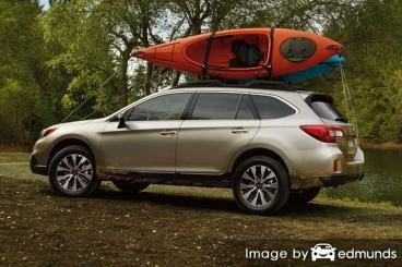 Discount Subaru Outback insurance