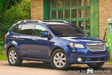 Insurance rates Subaru Tribeca in Fort Worth
