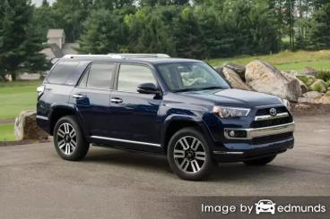 Insurance rates Toyota 4Runner in Fort Worth