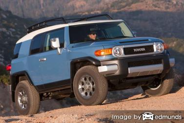 Insurance rates Toyota FJ Cruiser in Fort Worth