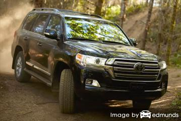 Insurance rates Toyota Land Cruiser in Fort Worth
