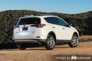 Insurance quote for Toyota Rav4 in Fort Worth